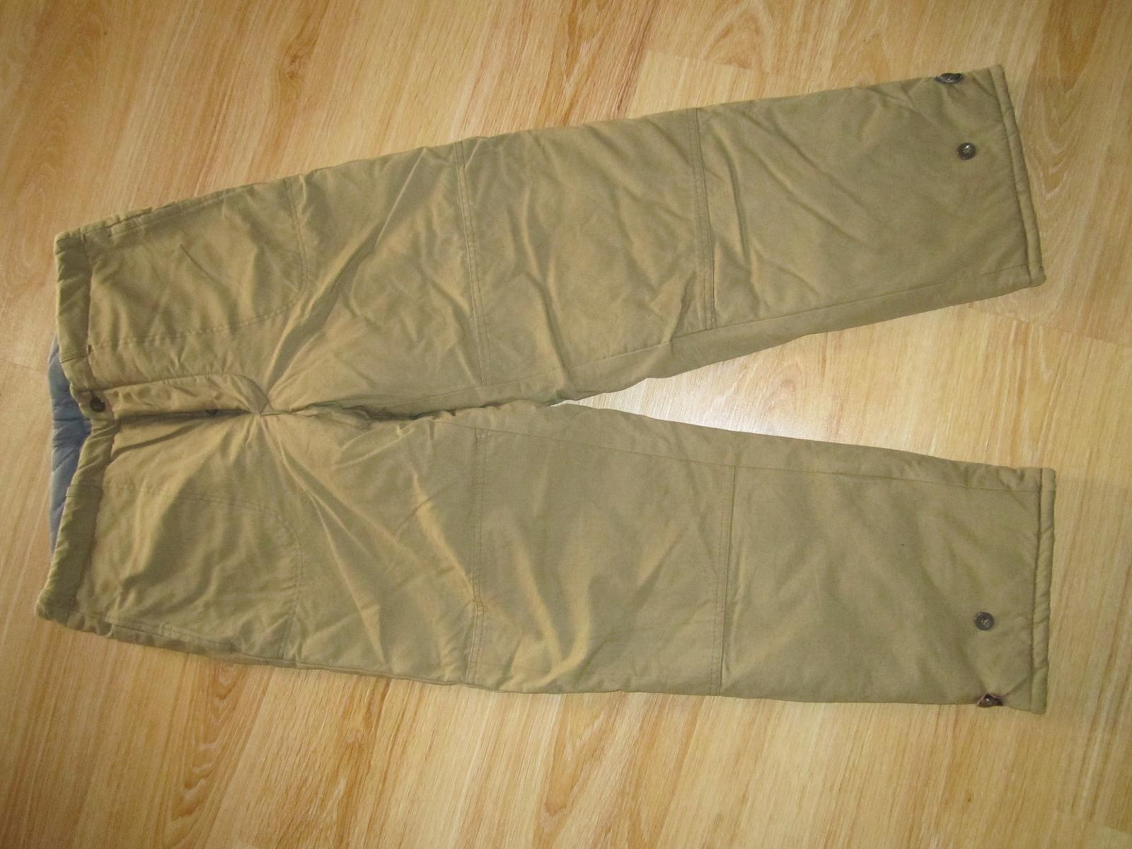 pracovné oblečenie--nohavice--XL - Obrázok č. 1
