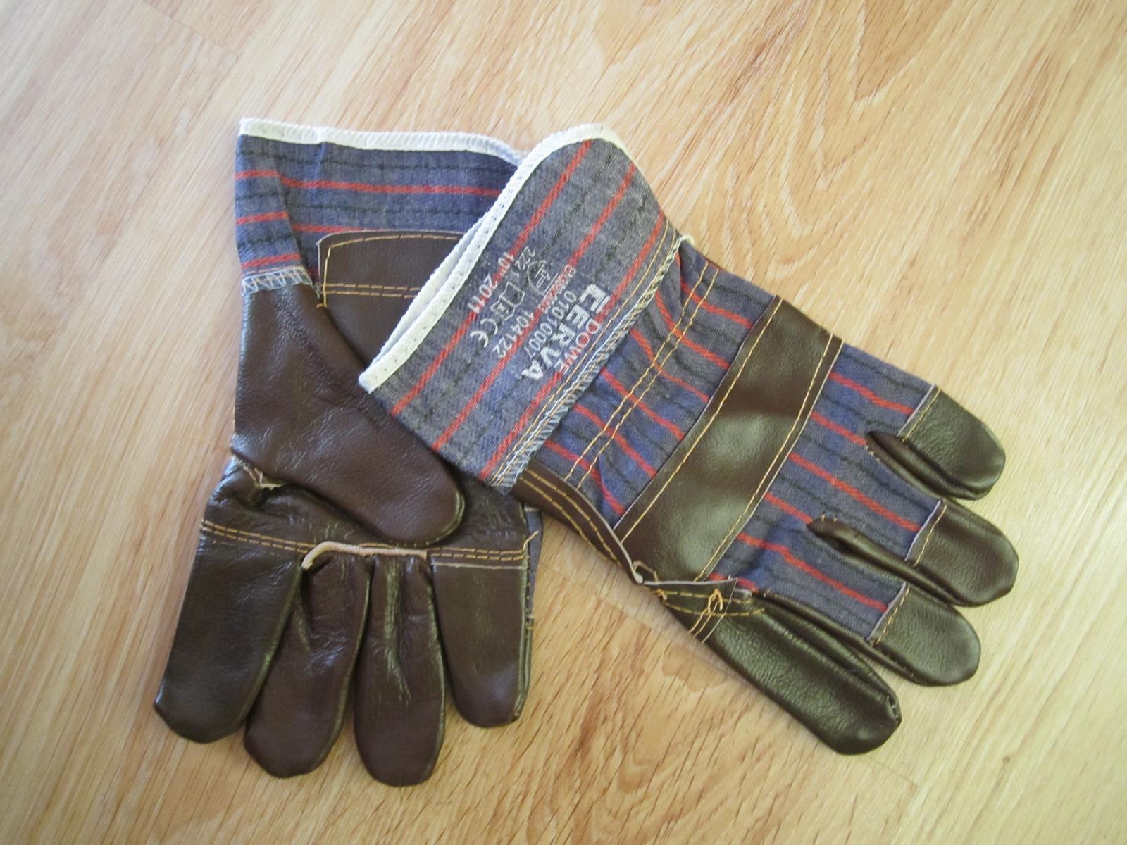 Pracovné rukavice--XL - Obrázok č. 1