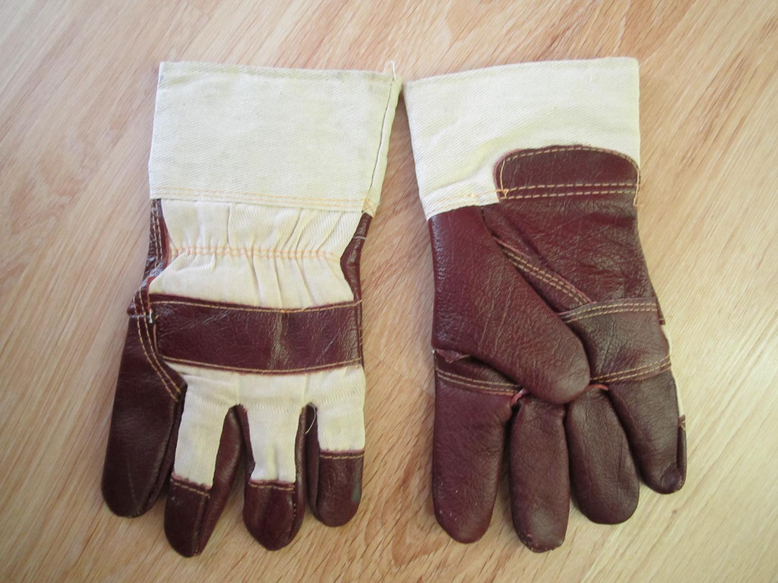 Kombinované zimné pracovné rukavice--XXL - Obrázok č. 1
