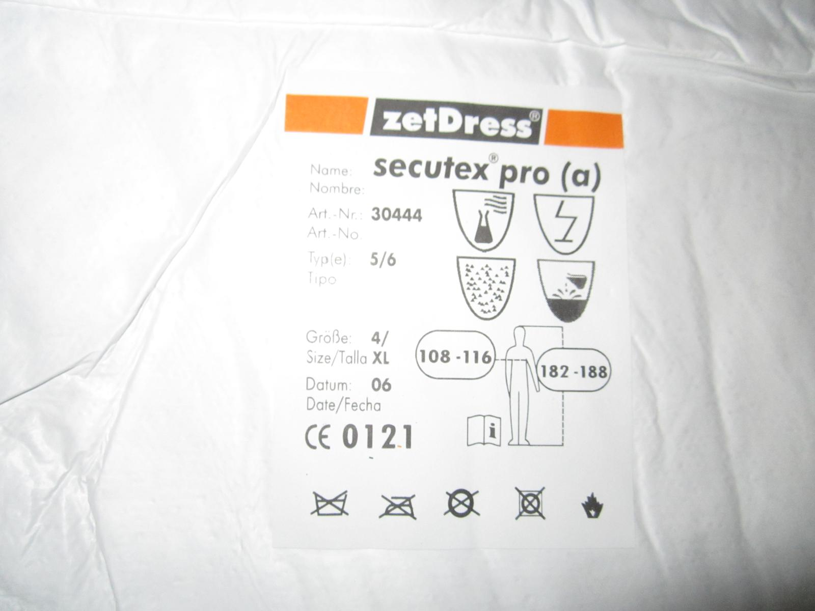 Ochranné oblečenie zetdress-secutex typ 5/6 - Obrázok č. 2