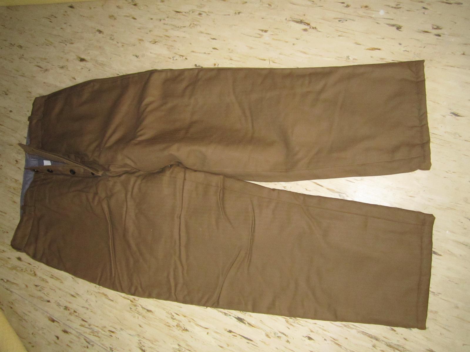 Pánske pracovné nohavice--XL - Obrázok č. 1
