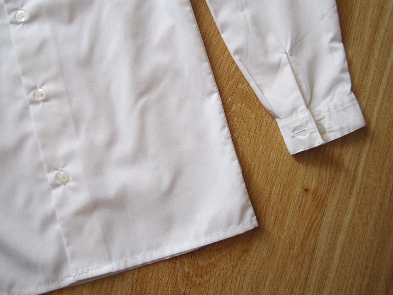 biela košeľa - Obrázok č. 2