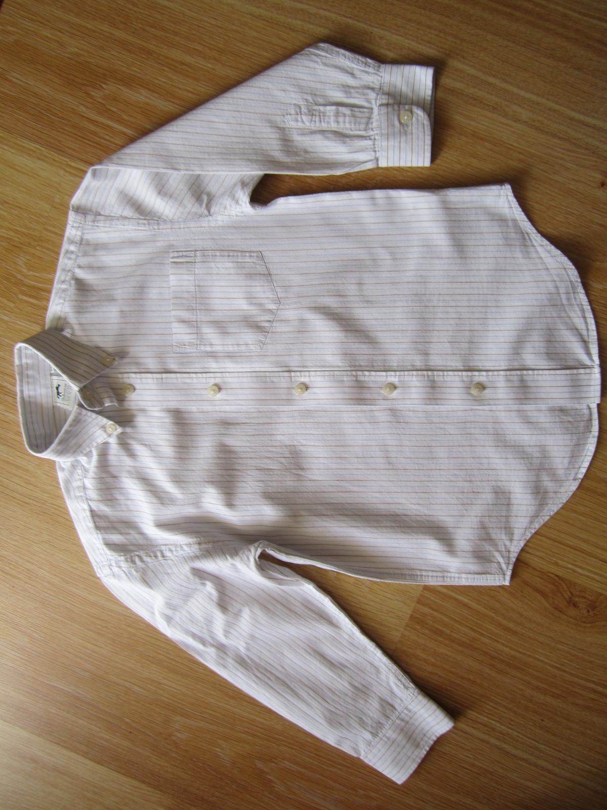 prúžkovaná košeľa - Obrázok č. 1