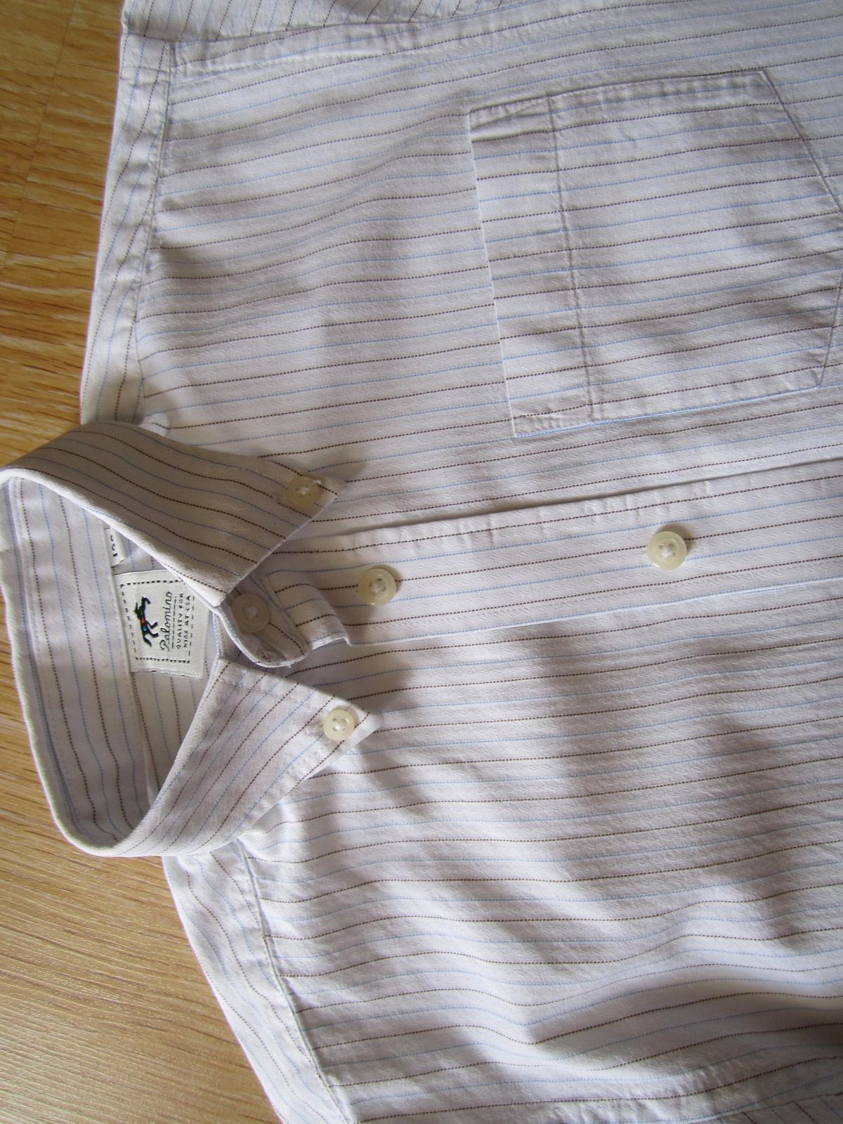 prúžkovaná košeľa - Obrázok č. 3