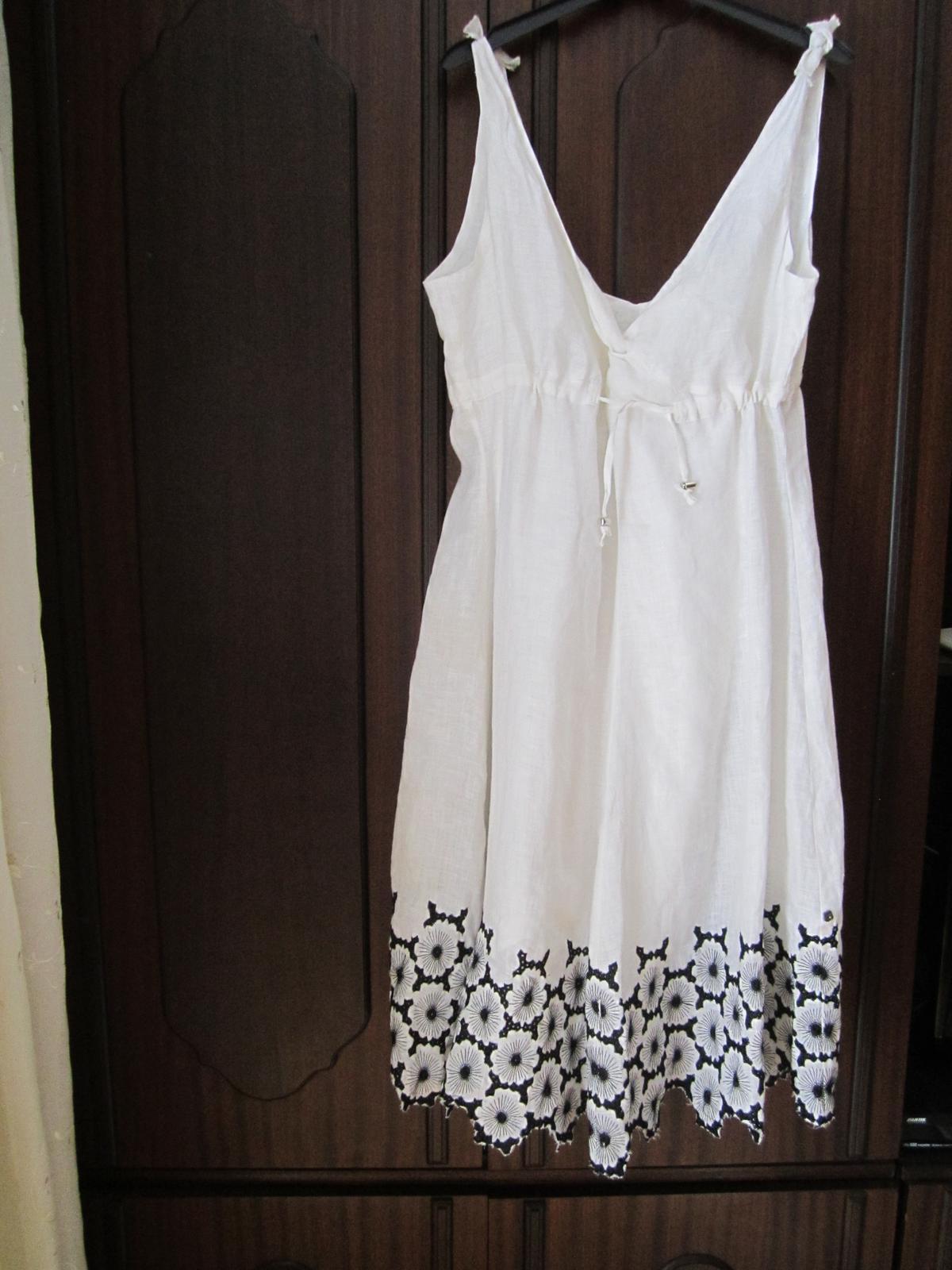 dámské ľanové šaty - Obrázok č. 1