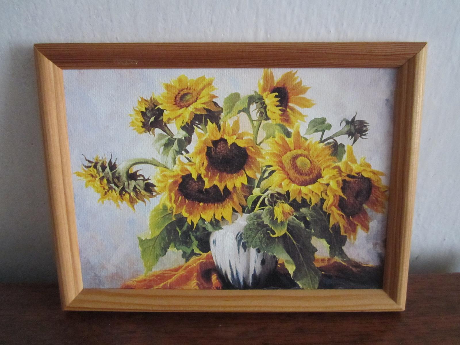 Obraz-slnečnica - Obrázok č. 1