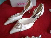Svatební boty na podpatku , 39
