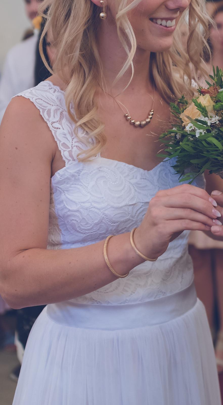 Svatební šaty šité na míru - Obrázek č. 3