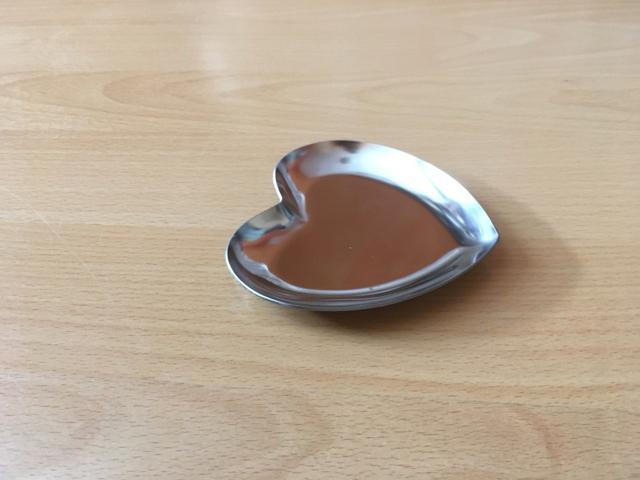 tácek pod prstýnky - srdce - Obrázek č. 1