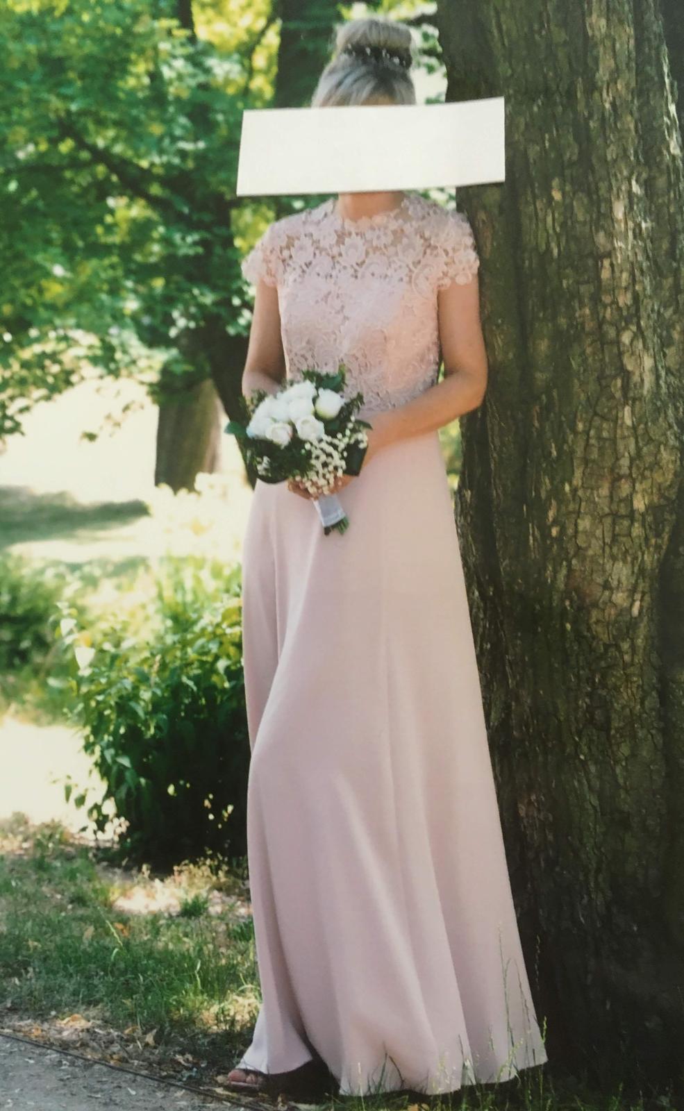 svatební, společenské šaty NEXT vel. 38 - Obrázek č. 1