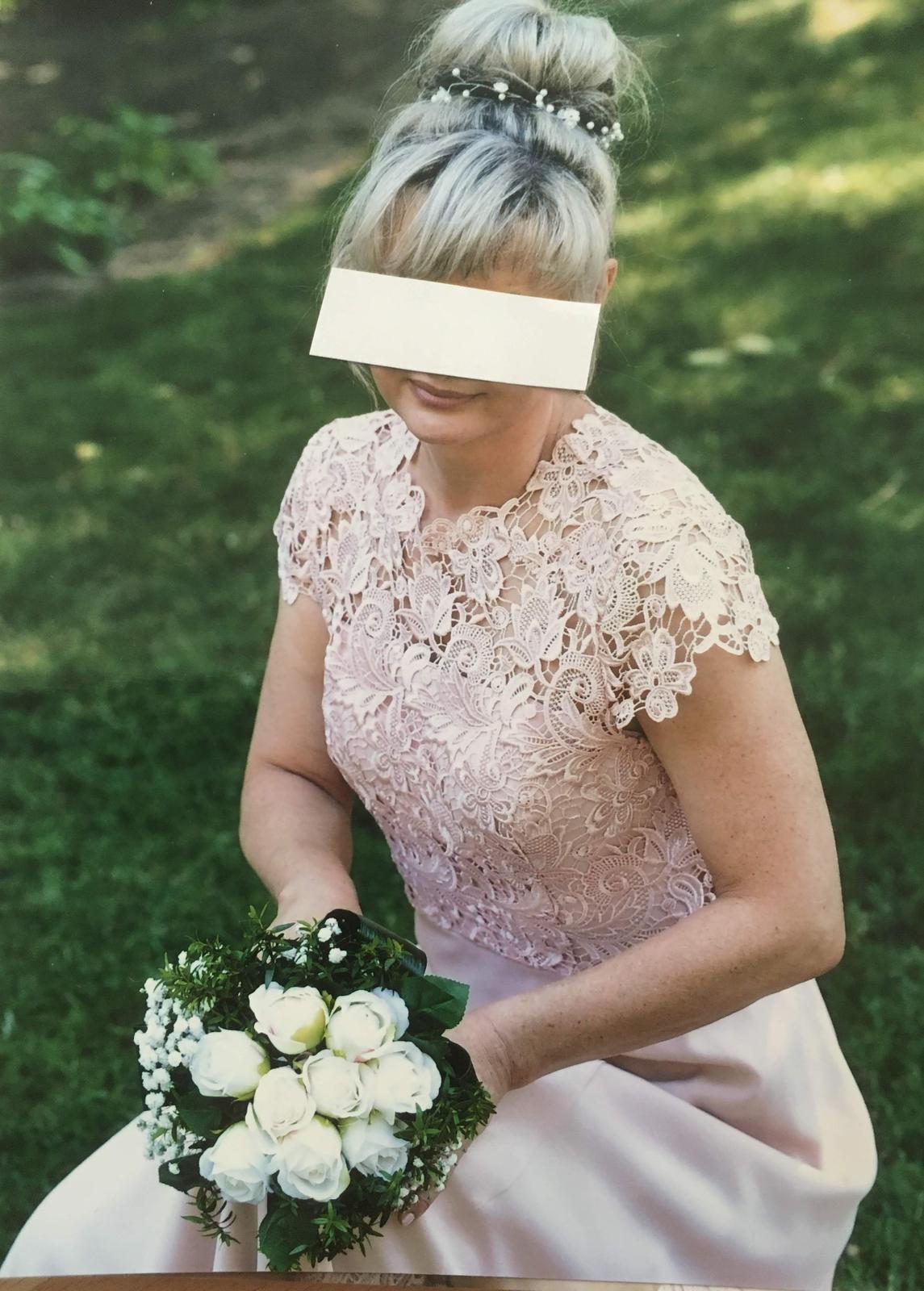 svatební, společenské šaty NEXT vel. 38 - Obrázek č. 3