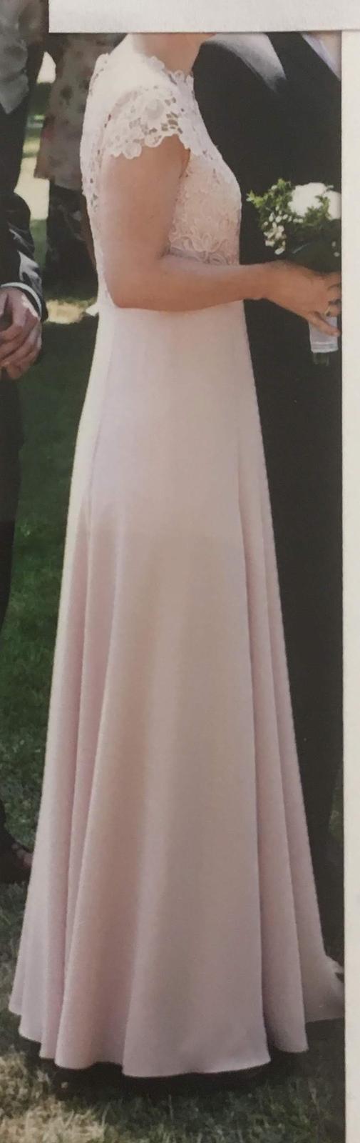 svatební, společenské šaty NEXT vel. 38 - Obrázek č. 4