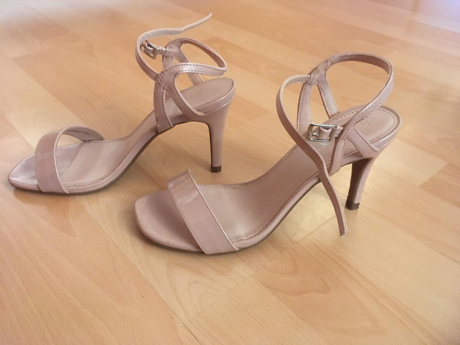 elegantní páskové společenské sandále, sandály - Obrázek č. 1