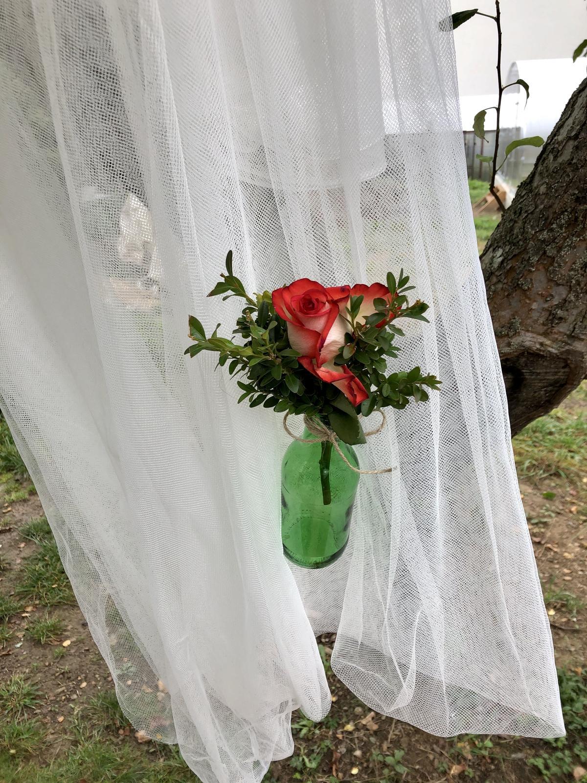 Svatební vázičky  30 ks - Obrázek č. 1