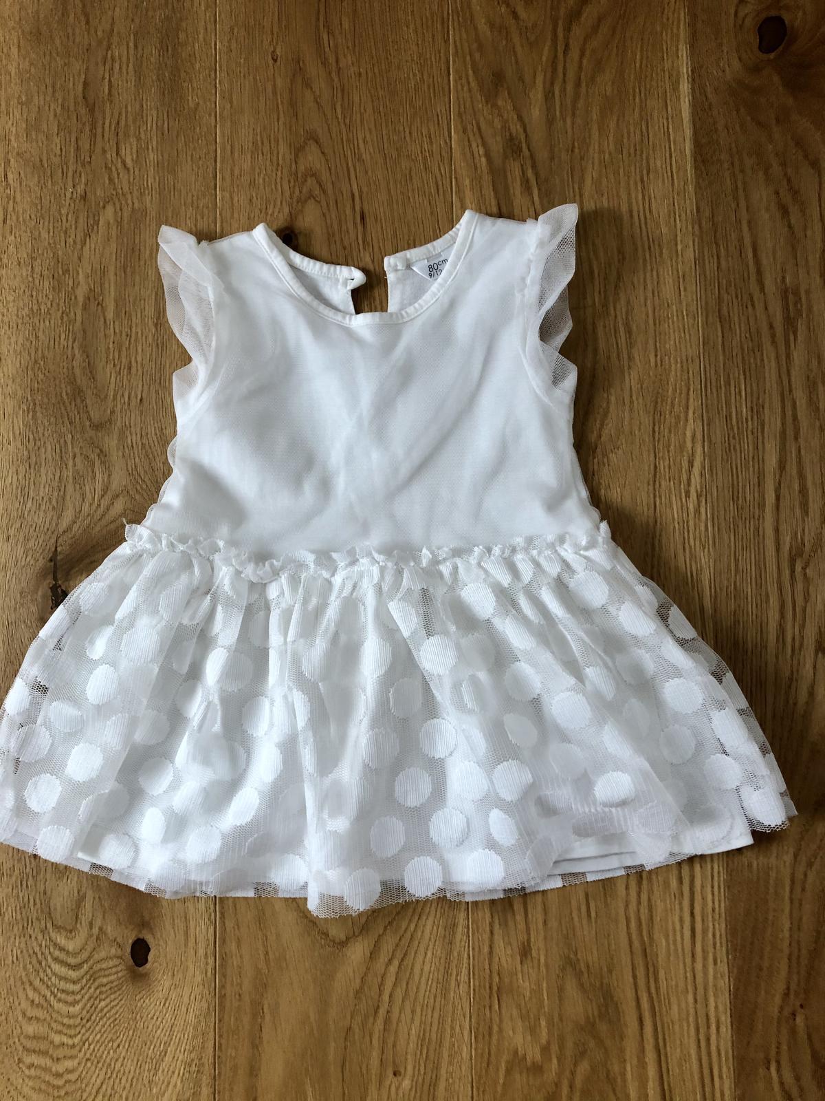 Nové dětské šaty 9-12m - Obrázek č. 1