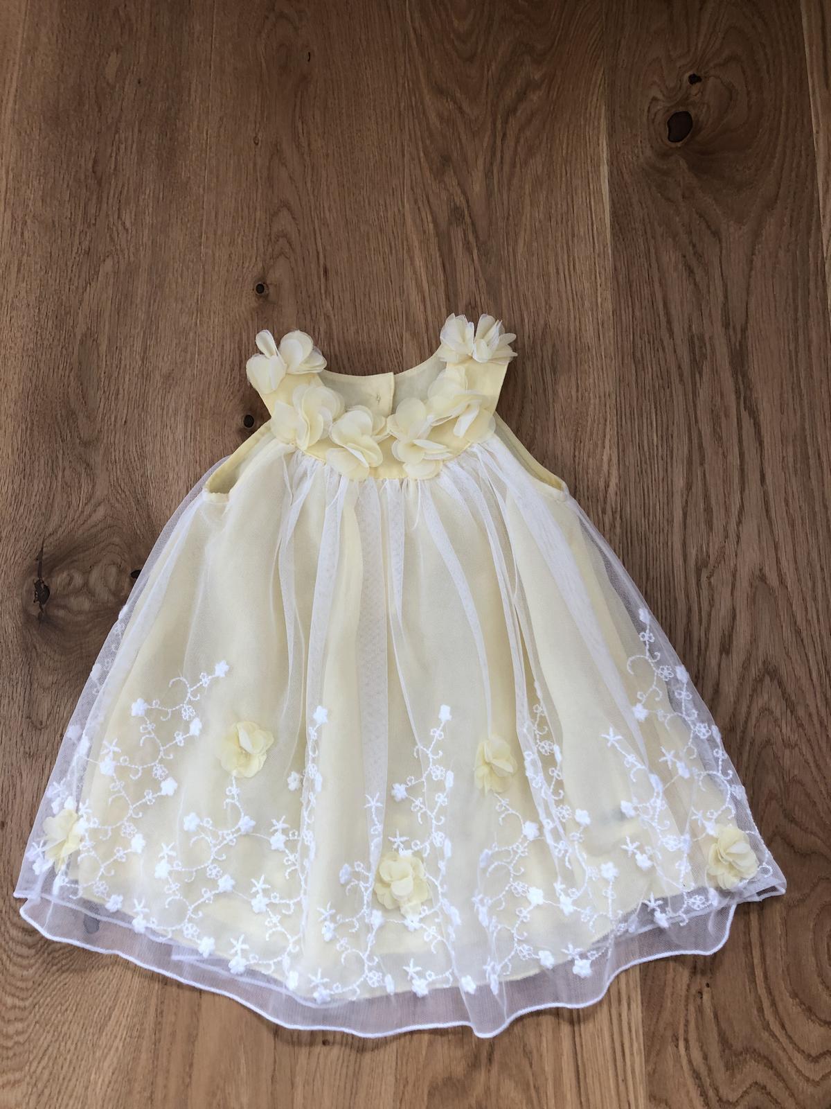 Nové šaty na svatbu 68/74 - Obrázek č. 1