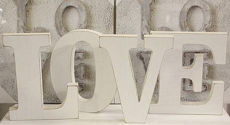 Nápis Love velký 18 cm - Obrázek č. 1
