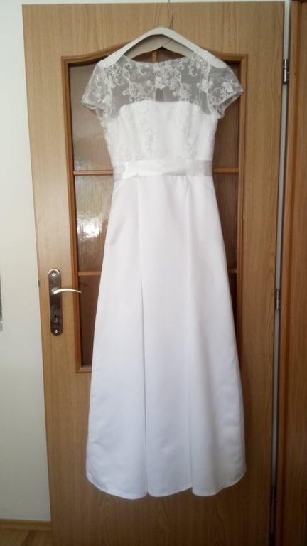 SLEVA - svatební šaty - Obrázek č. 1