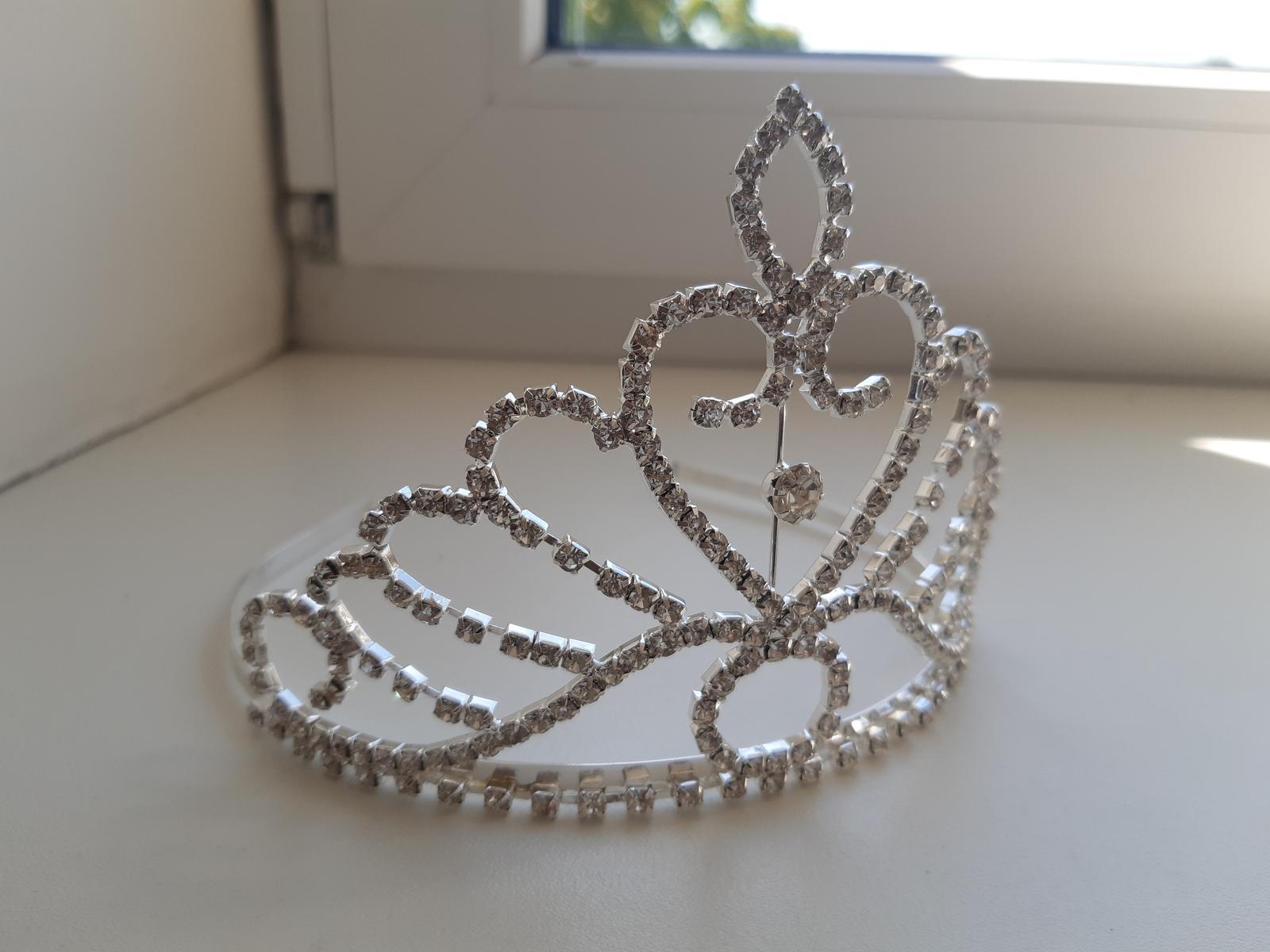 Diadem, korunka, tiara do vlasov - Obrázok č. 2