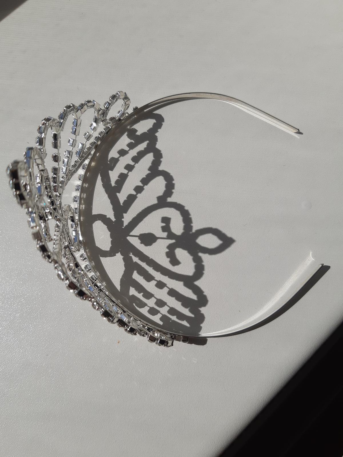 Diadem, korunka, tiara do vlasov - Obrázok č. 3