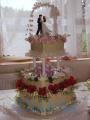 Náč svatební dort