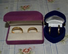 ještě se musíme rozhodou jestly si vememe po babičce prsteny nebo ty co jsme si koupili