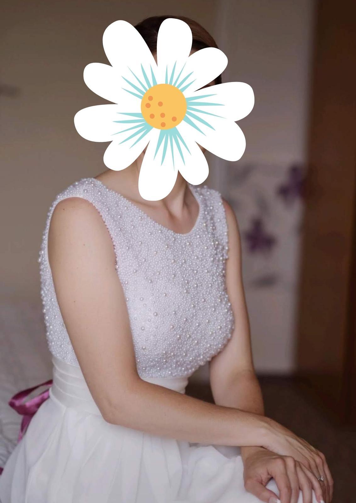 Svatební šaty vel. 36 - 38 - Obrázek č. 1