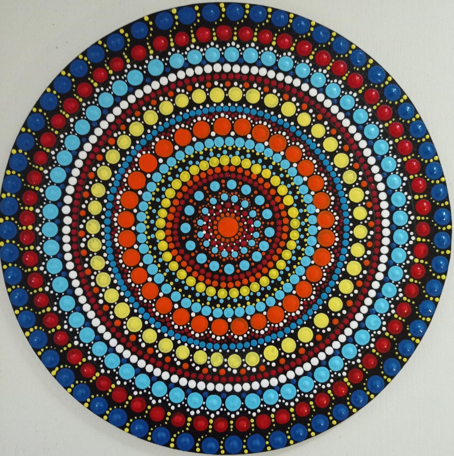 Farebná mandala - Obrázok č. 1