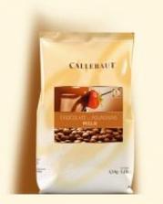 Mléčná belgická čokoláda Callebaut do čokofontány