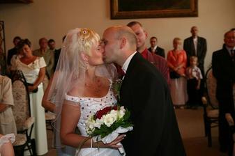 a je dokonáno - jsme novomanželé
