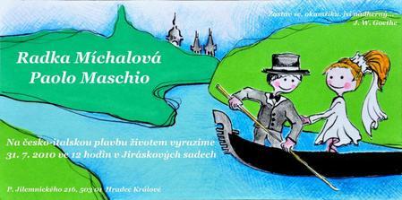 Česká verze pro českou svatbu