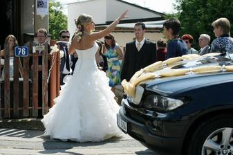 Nevěsta má všechno pod kontrolou