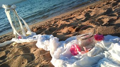 Romantika na plazi.......