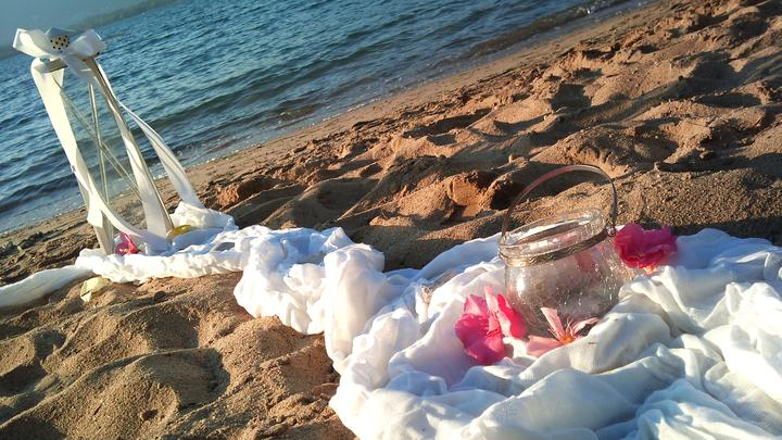 Vlastni realizace - Romantika na plazi.......