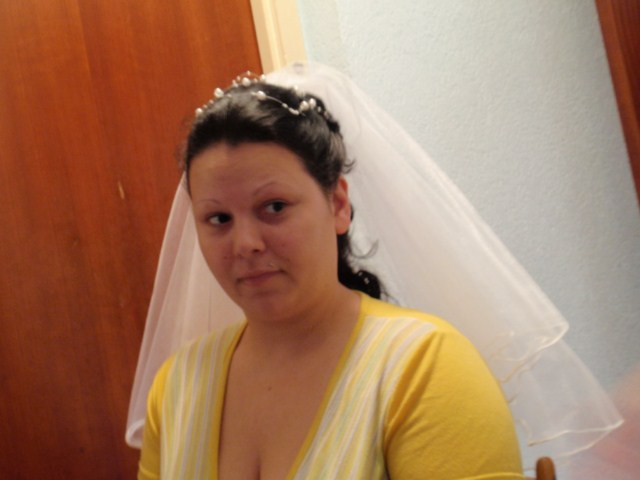 Rychlo sa to krati: 15.5.2010 - skuska svadobneho ucesu =)