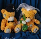 Medvídci na svatební auta (č. 10),