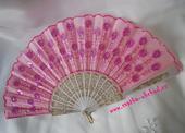 Růžový vějíř (č. 04),