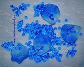 Kapky rosy - modré (č. 05),