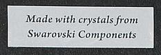 Náhrdelník (č.076) - Swarovski components,