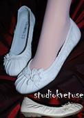 Bílé balerínky (č.20), 36