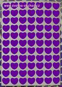 Srdíčka velká - 77 kusů (č. 36),