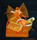 Svatební košťátko s lopatkou (č. 10),