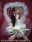 Svatební figurka (č.37),