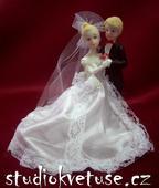 Novomanželé na svatební dort (č.17),