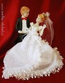 Svatební figurka (č.47),