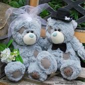 Svatební medvědi modří 25 ,
