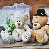 Svatební medvědi 18 krátkosrstí,