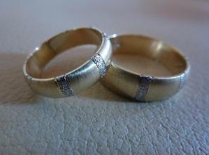 naše ještě krásnější prstýnky,jsou už taky doma.