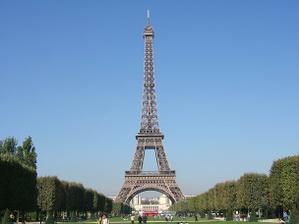 Místečko žádosti o ruku - Eiffelova věž