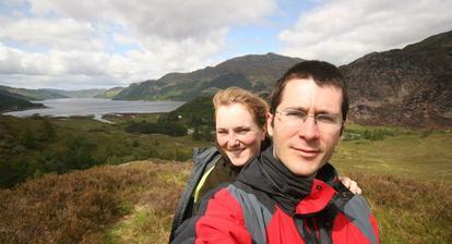 Svatebni cesta Skotskem z lonskeho cervna